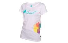 Local Dice  tshirt Femme Women blanc